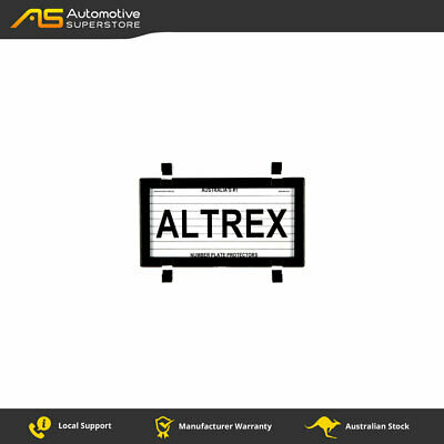 Motorcycle Number Plate Protector Altrex 9DMBL