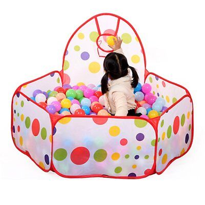 Portable Kids Outdoor/Indoor Game Play Children Toy Tent Ocean Ball Pit Pool  VW