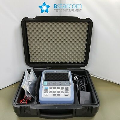 R&S RTH1002, 200MHz, 2Channel Oscillosc: Opt- Z4-carrying case- New. never used!