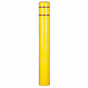 "GRAINGER APPROVED Bollard Cover,8"" Dia.,72"" H,Yellow, 3501R"