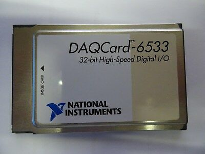 NI National Instruments DAQCard 6533 32-bit Digital I/O Datenerfassung
