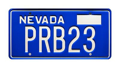 Corvette Summer | Mark Hamill's Stingray | PRB23 | STAMPED Prop License Plate