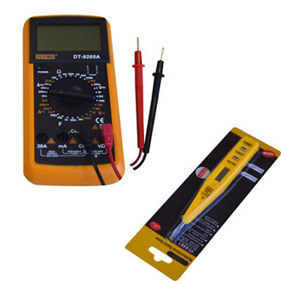 Iron Solder Repair Tools Kit Electric Rework Soldering with Multimeter Tools
