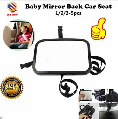 Baby Car Seat Rear View Mirror Facing Back Infant Kids Child Toddler Safety MA#