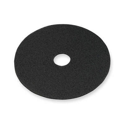 3M Non-Woven Nylon/Polyester Fiber Stripping Pad,19 In,Black,PK5, 7200, Black