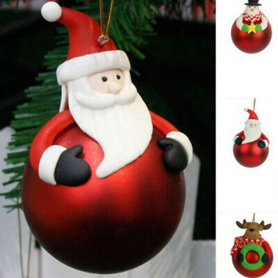 Merry Christmas Tree Decoration Balls Ornament Festival Gift Hangings Ornament