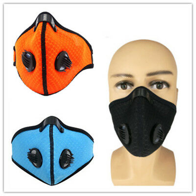 Activated Carbon Filtration Dust Face Mask Dustproof Breathing Respirator