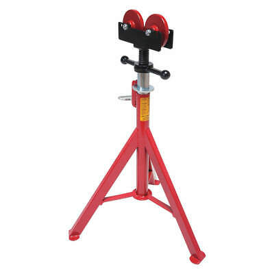 """ROTHENBERGER Steel Pipe Stand with Roller Head,27"""" to 50"""" H, 10645"""