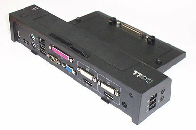 Dell Latitude E6420 E6330 E6440 E6520 Advanced Dock Docking Station Port Rep