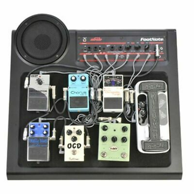 SKB 1SKBFN8 Footnote Amplified Guitar Effects PedalBoard Pedal Board