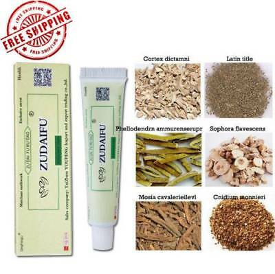 1Pc Zudaifu antibacterial Psoriasis Eczema Cream Massage Herbal Remove Psoriasis