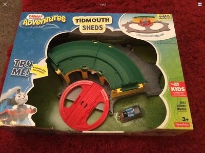 TIDMOUTH SHEDS & Turntable Track master Set Thomas And Friends ...
