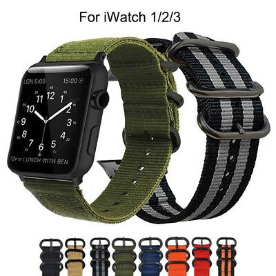 38mm 42mm Casual iWatch Band For Apple Watch Band Sport Loop Strap Nylon Woven