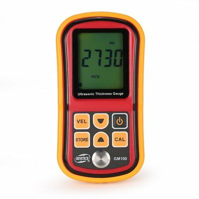 BENETECH Digital Ultrasonic Thickness Gauge Meter Tester Sound Velocity Meter VW