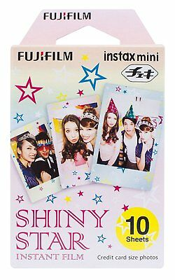 Fujifilm Instax Mini Instant Shiny Star Film, 10 Sheets