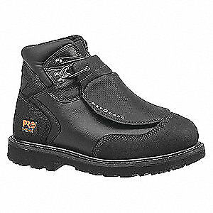 TIMBERLAND PRO Work Boots,6-1/2,M,Men,Black,Lace Up,PR, 40000, Black