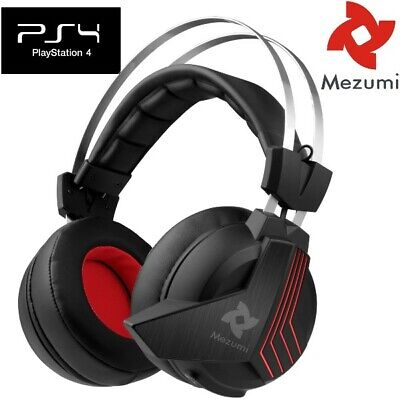 mezumi 2 4ghz wireless gaming headset for xbox one ps4 playstation 4 pc iphone - how to get fortnite audio through headset pc