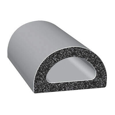 TRIM LOK INC EPDM Rubber Seal,D-Section,0.75 In W,25 Ft, X135HT-25