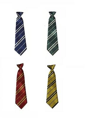 Kids Boy Fancy Dress Cosplay Harry Potter Style House Tie Striped School Tie