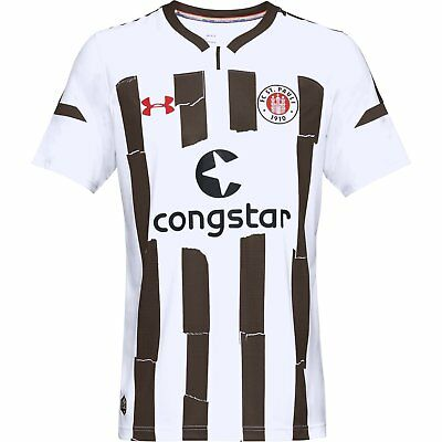 St Pauli Junior Away Short Sleeve Replica T-Shirt 2018/19