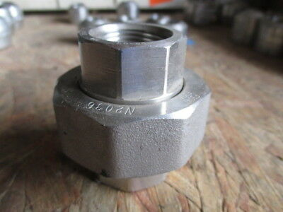 "3/4"" F NPT/FNPT Pipe, 304 SS Stainless Steel Union"