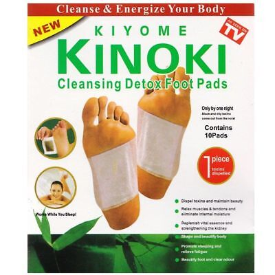 KIYOME Kinoki Foot Detox Patches 10 pcs