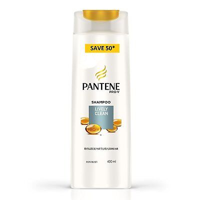Pantene Lively Clean Shampoo, 400 ml  (Free shipping worldwide)