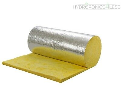 Thermal Acoustic Duct Wrap Insulation Ventilation Duct Pipe Tube Hydroponics