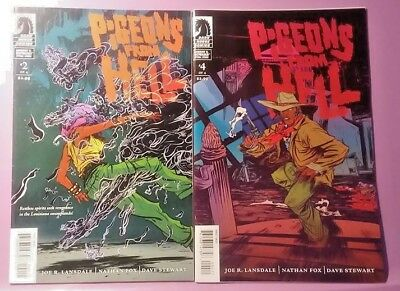 Pigeons from Hell  #2 & #4 NM (2008 Dark Horse Comics)
