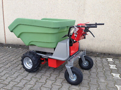 Powerpac Elektroschubkarre Dumper Mce400 100% Hochwertige Materialien Das Original Made In Germany