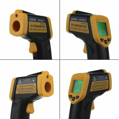 New AN550A Infrared Thermometer LCD Digital Display Laser Temperature Meter NS