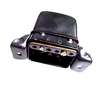 Voltage Regulator 6v Control Box, Lucas Type - MCR2 - 6 Volt BSA Norton Triumph