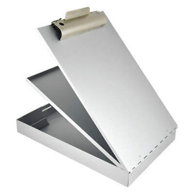 SAUNDERS Storage Clipboard,Legal Sz,Metal,Silver, 21018, Silver