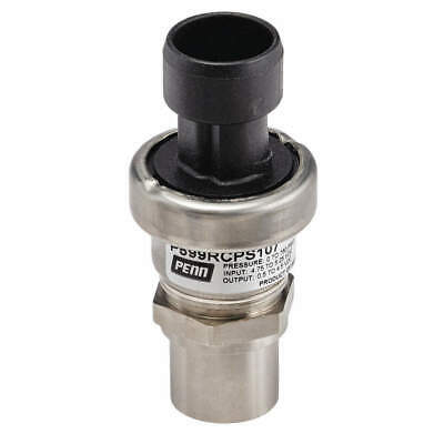 JOHNSON CONTROLS Pressure Transducer,304L SS,0 to 100 psi, P599AAPS101K