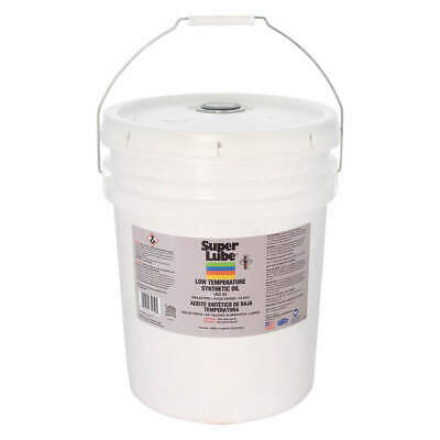 SUPER LUBE Low Temperature Oil,Pail,5 gal., 74050, Translucent Clear