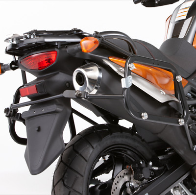 Side Case Carrier Set, Black, '12-'16 Suzuki V-Strom 650, Retail $396.83