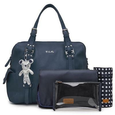 Il Tutto Nico Tote Baby Changing Nappy Bag - Navy