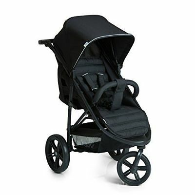 Brand New Hauck Rapid 3 Wheeler One Handfold Pushchair Buggy Stroller Pram Black