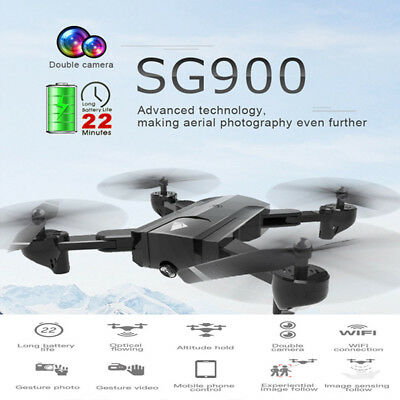 2.4G Cool Attitude Hold WiFi 720P Optical Flow Dual Camera RC Quadcopter Drone