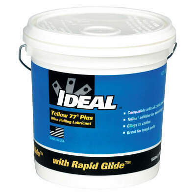 IDEAL Wire Pulling Lubricant,1 gal. Bucket,Ylw, 31-391, Yellow