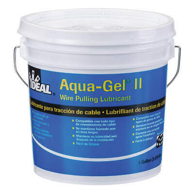IDEAL Wire Pulling Lubricant,1 gal Bucket,Blue, 31-371, Blue