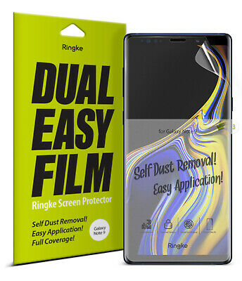 Samsung Galaxy Note 9 Screen Protector Ringke® [Full Coverage] Clear Film [3pcs]
