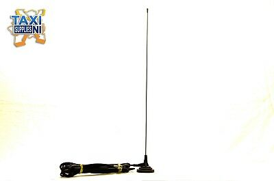 High Strength Taxi/Cab Magnetic Aerial, 60 mm with Rubber Surround