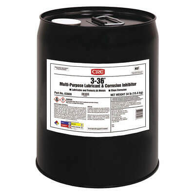 CRC Multipurpose Lubricant,3-36(R),5 Gallon, 03009