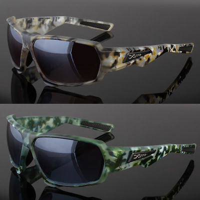 03b7719691 Men s Xloop Driving Real Tree Camouflage Camo Sports Hunting Sunglasses  Shade