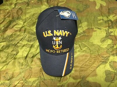 416f6d5a85e US NAVY MASTER Chief Petty Officer Retired Hat -  9.91