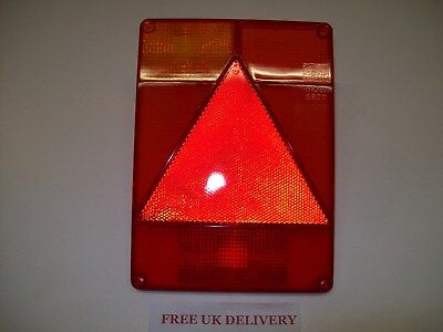 L H Radex 6800 Trailer Light Lens suit Ifor Williams/Indespension FREE P&P