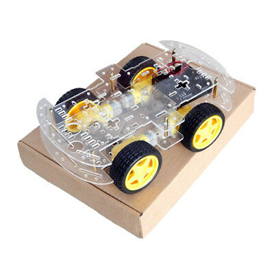 blesiya 4WD DC Gear Motor Smart Robot Car Chassis Kit DIY for Arduino