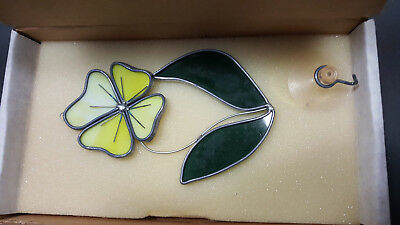 Tiffany Stained Glass Collectors Society Yellow Flower Stem