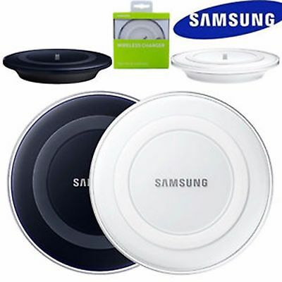 Genuine Samsung Wireless Charger Charging Pad Dock Plate For Galaxy S6 S7 S8 S9